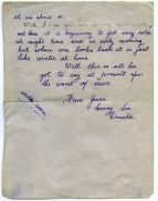 DR Barr letter to mother a